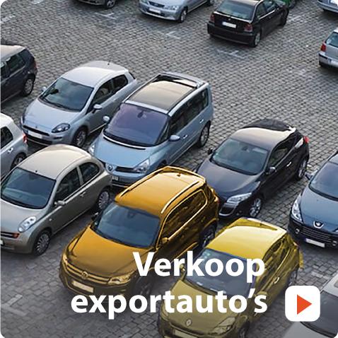verkoop exportauto's